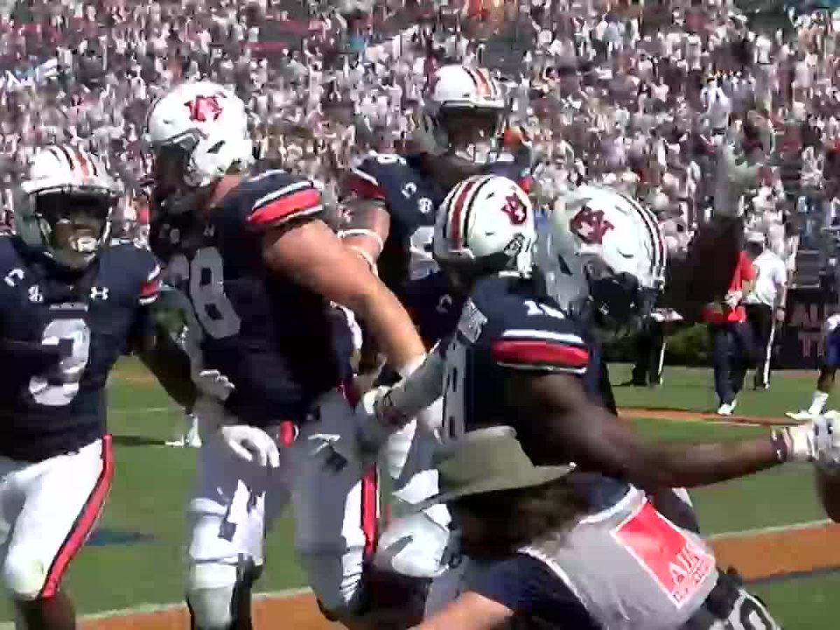 Auburn Athletics photographer recounts being trampled during touchdown celebration