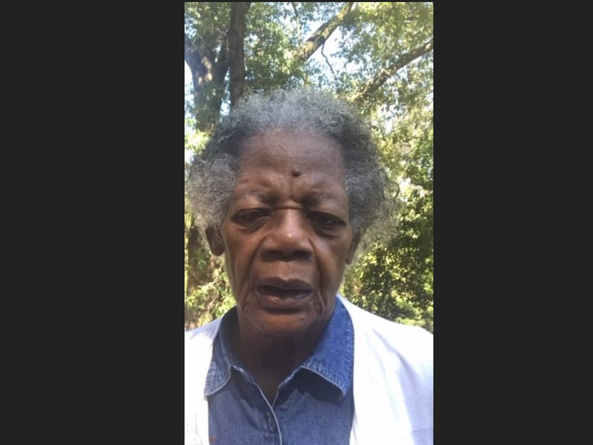 Alabaster searching for Alzheimer's patient