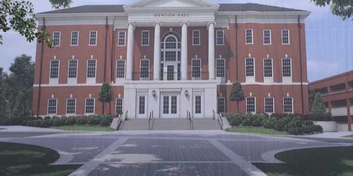 UA unveils new business school building