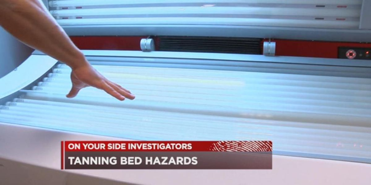 Tanning beds 'not clean' and damaged