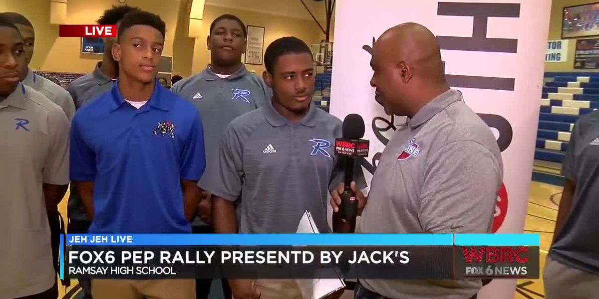 WBRC FOX6 Sideline Pep Rally: Ramsay High School (Part 1)