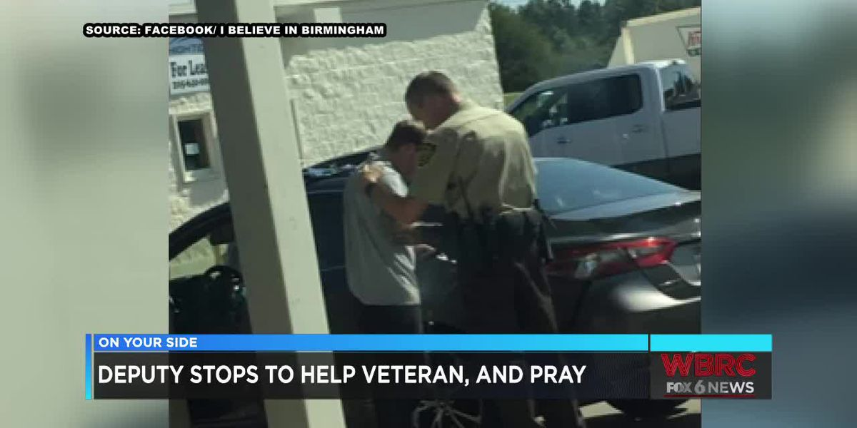 JeffCo deputy stops to help veteran and pray