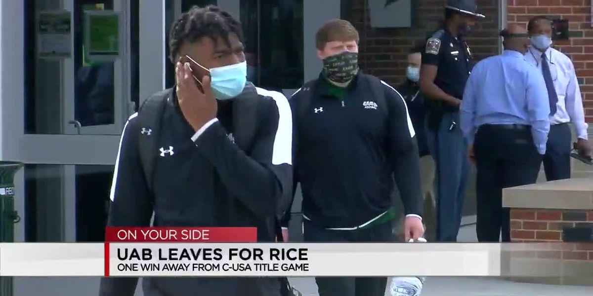 UAB leaves for Rice