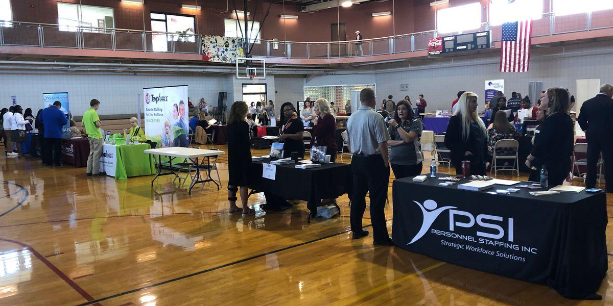 Career fair shows off possible jobs to Calhoun Co. high school seniors