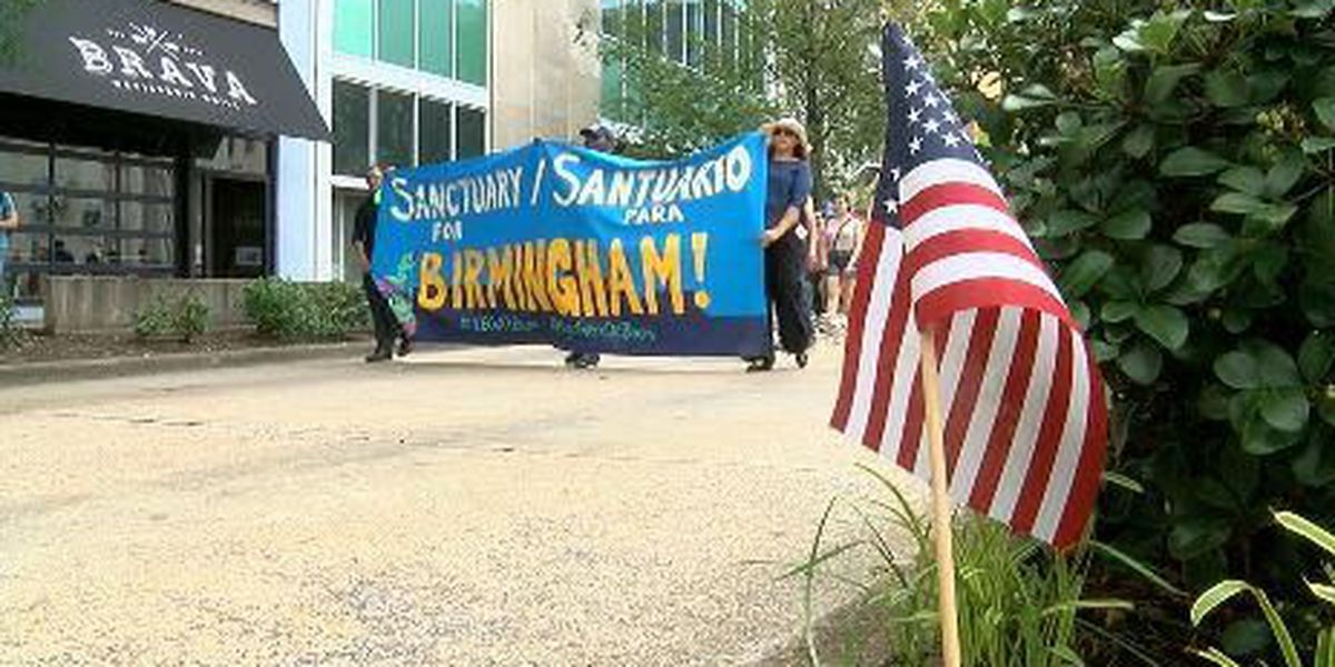 Birmingham marches in support of sanctuary city ordinance