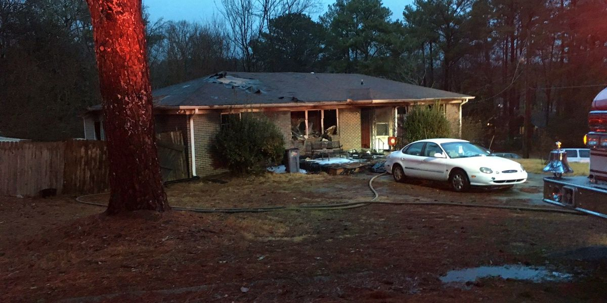 Elderly woman suffers life-threatening injuries in Center Point house fire