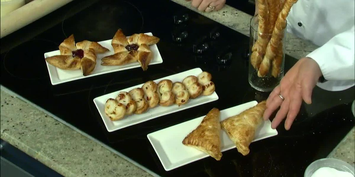 Puff Pastry: Pinwheels, Apple Turnovers, Palmiers & Cheese Straws