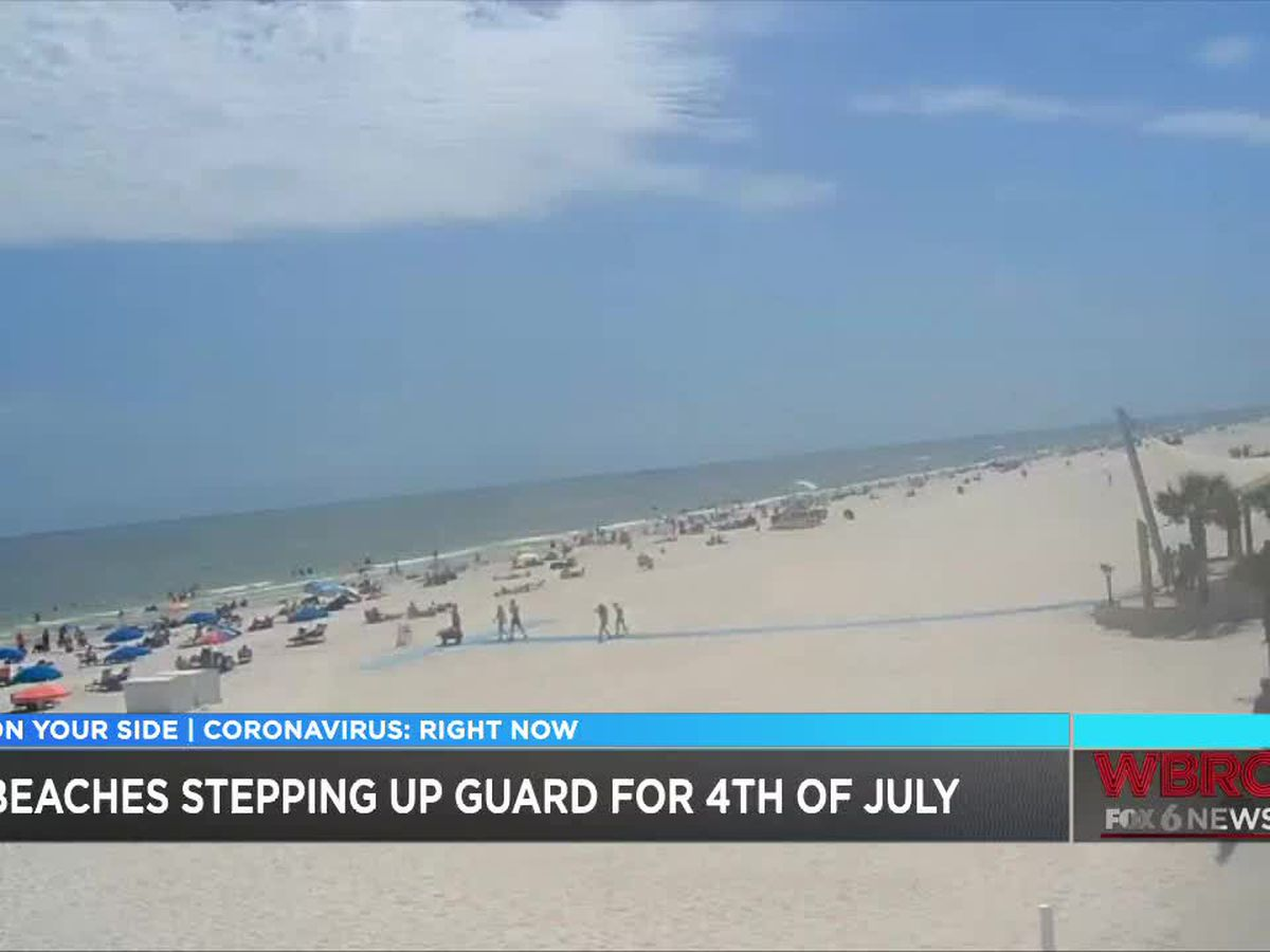 Alabama beaches to enforce COVID-19 rules on Fourth of July weekend