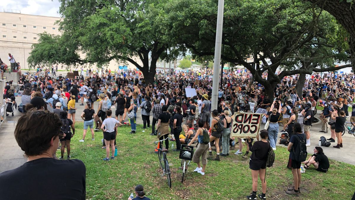 NOPD thanks New Orleans protestors for peaceful demonstration