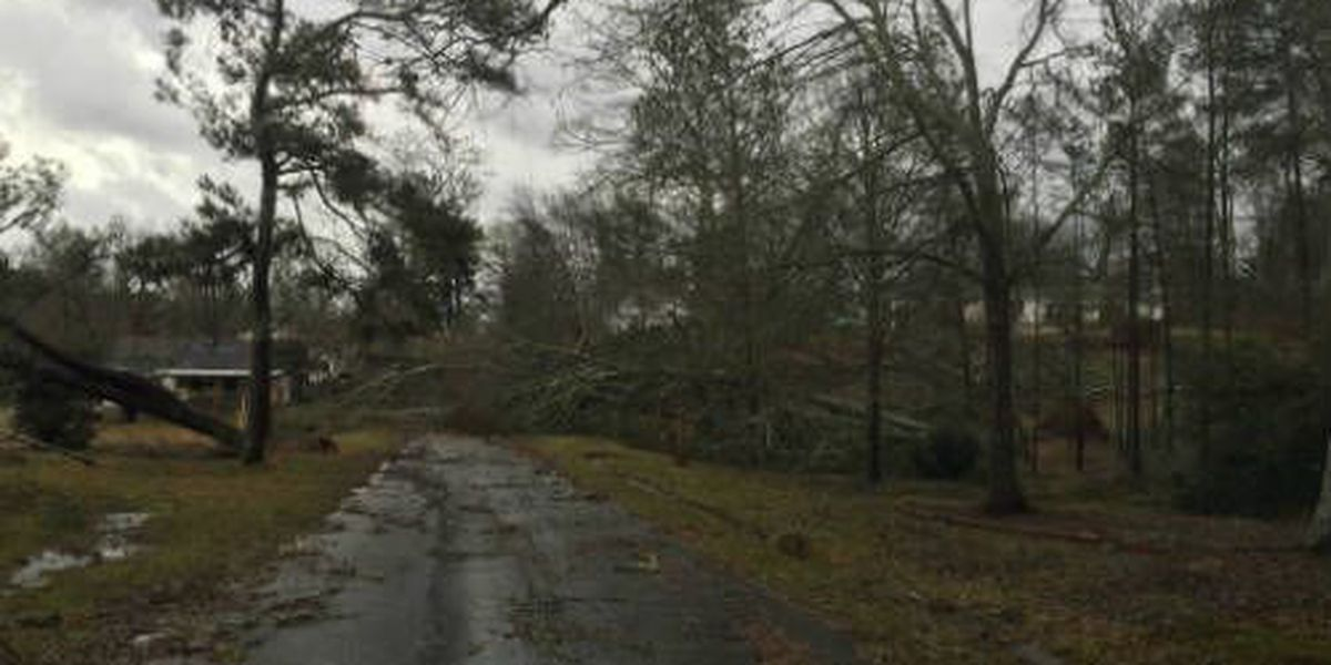 Tune in for a look at storm damage across the Southeast at 7:09 a.m.