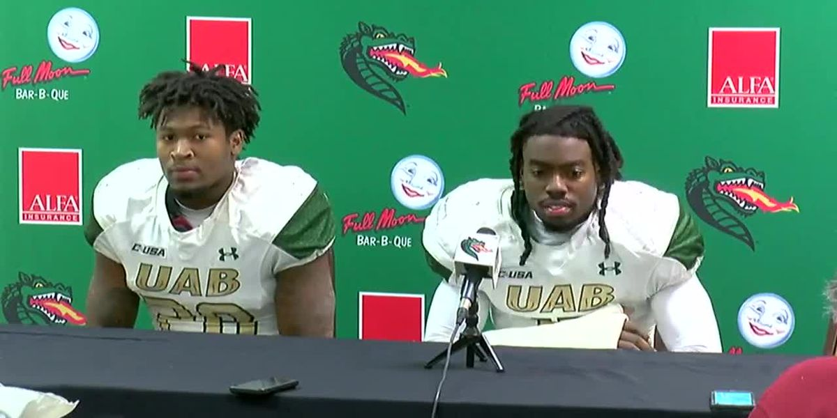 UAB players speak after Southern Miss game