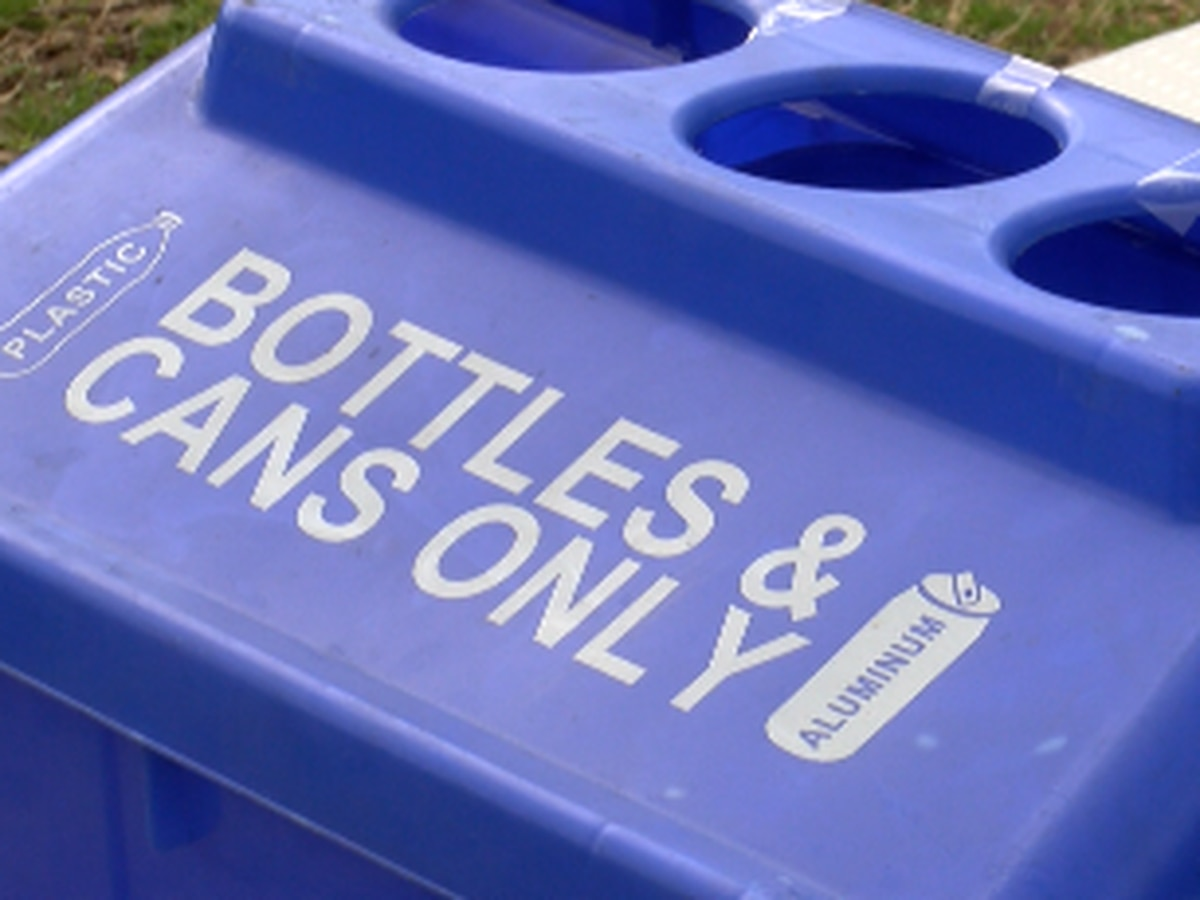University of Alabama recycling center curbing the amount of trash going to landfills