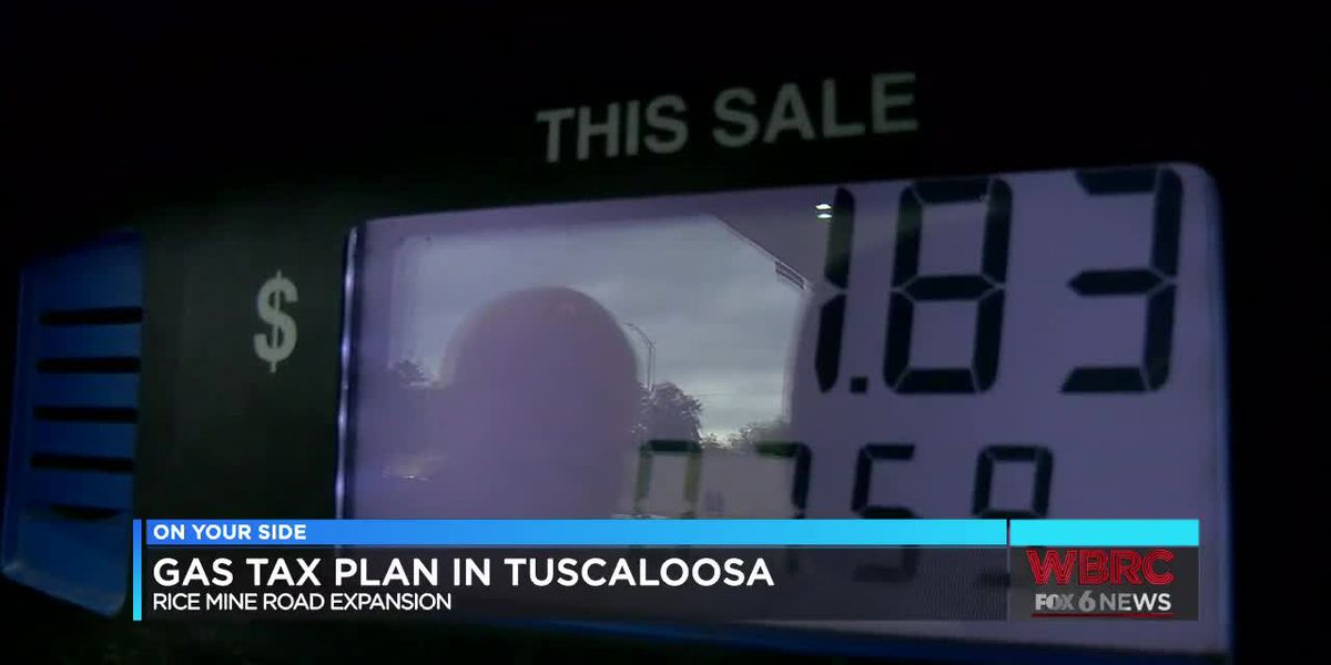 Gas tax plan in Tuscaloosa