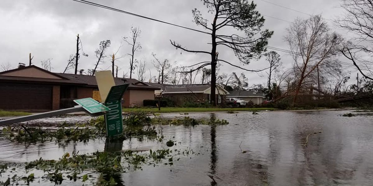 Northern Florida Hit Hard By Powerful Hurricane Michael