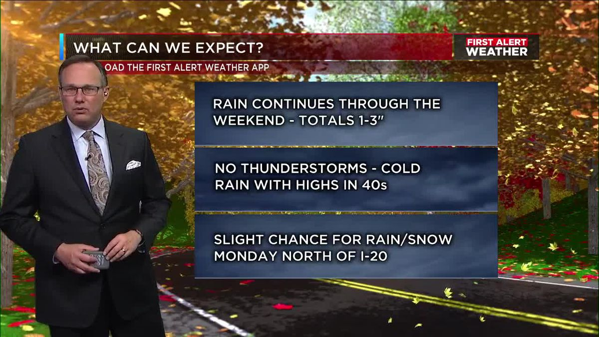 First Alert Weather: 9 p.m. update 12-7-18