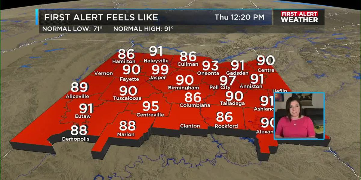 First Alert Weather: Noon update 7-9-20