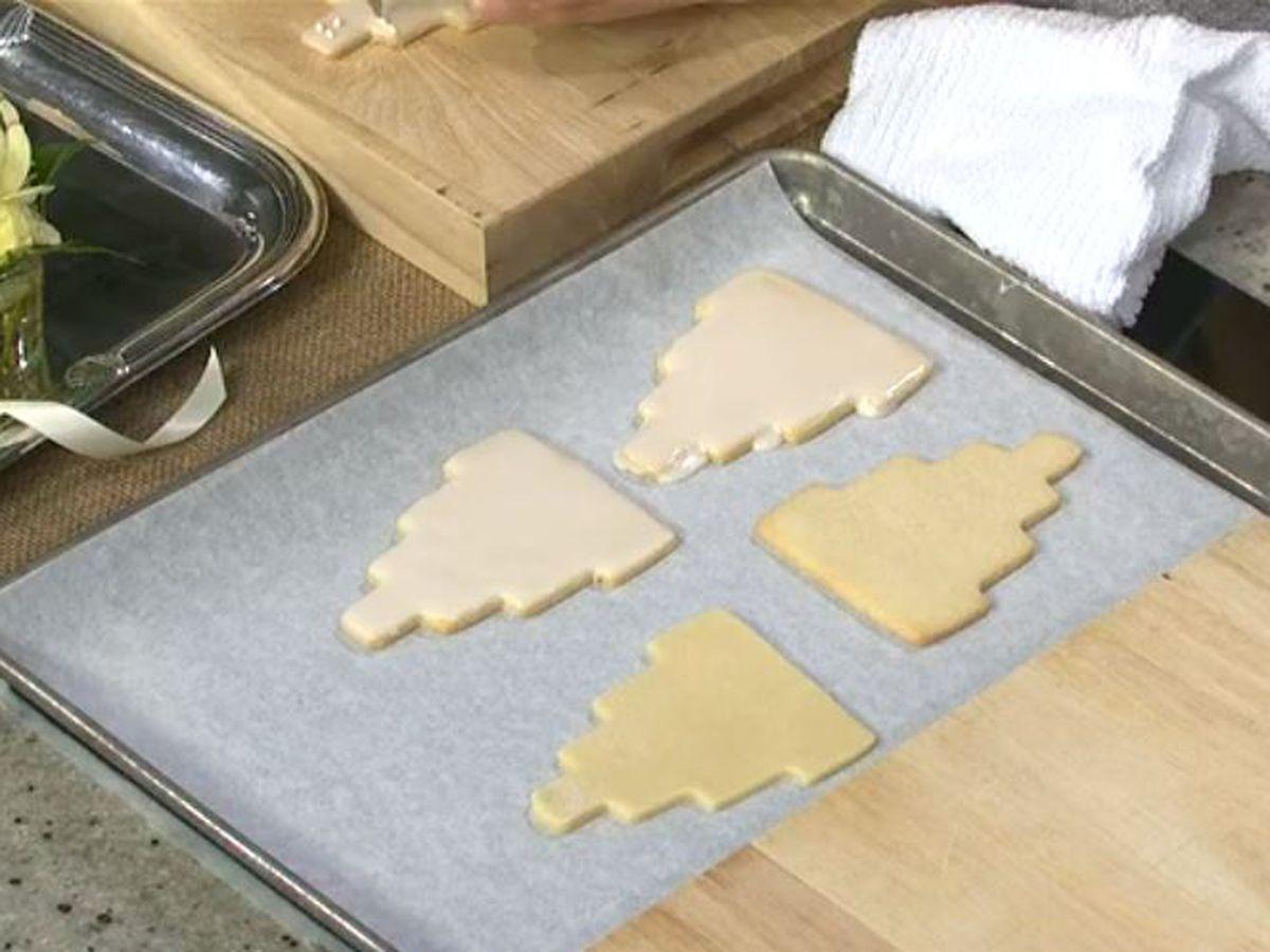 Buttermilk Lipstick: Classic wedding cake cookies