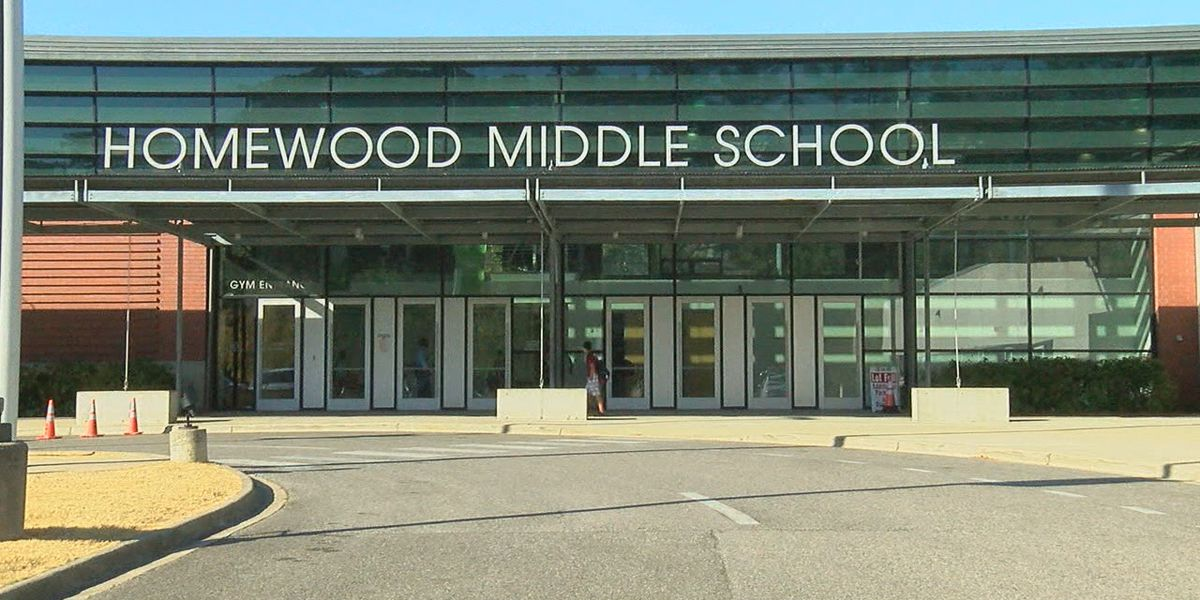 Homewood Middle School students learn about healthy eating during COVID-19