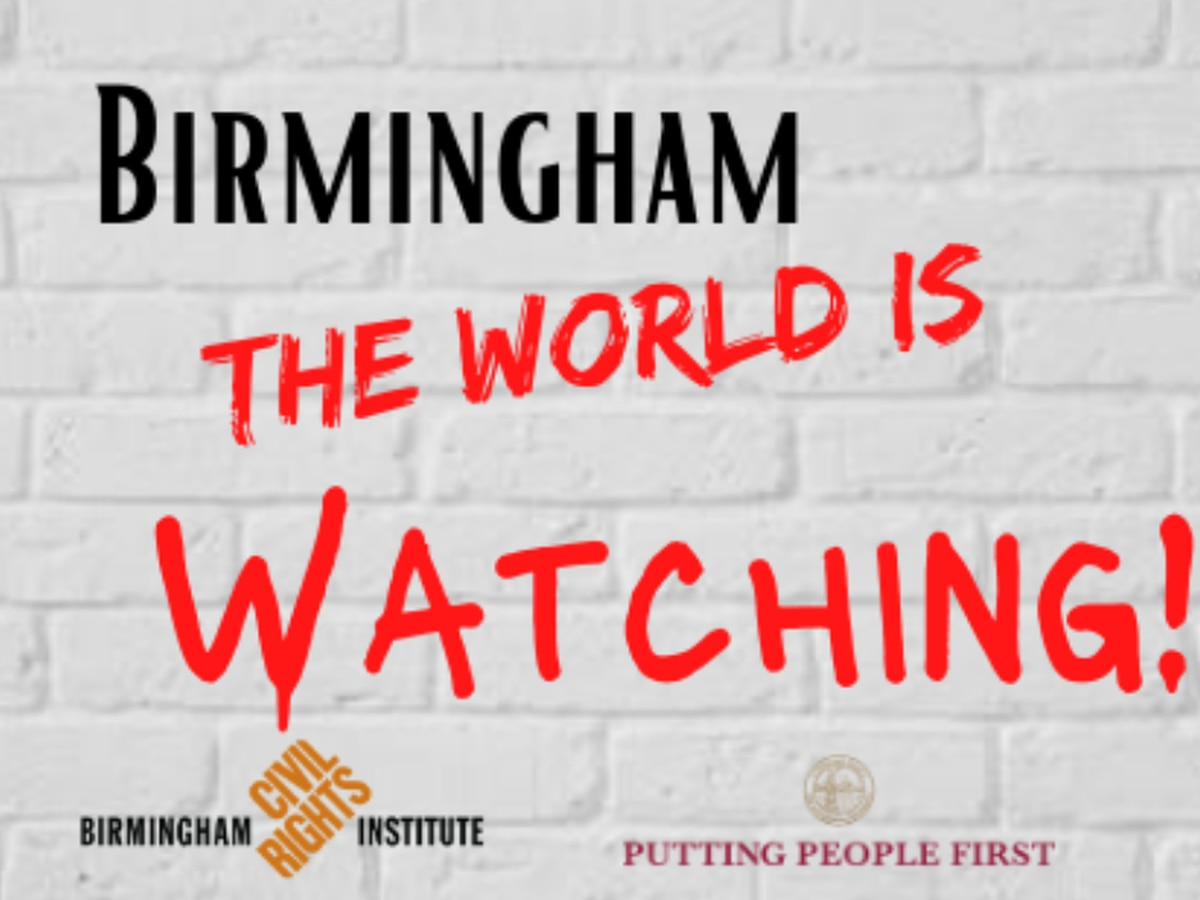 """""""Birmingham, the World is Watching"""" Rally to serve as example of non-violent protest"""