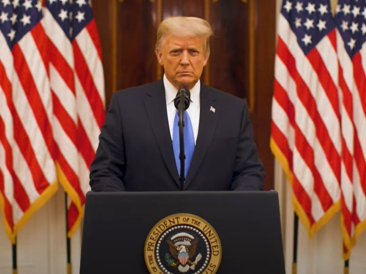 President Trump releases farewell address