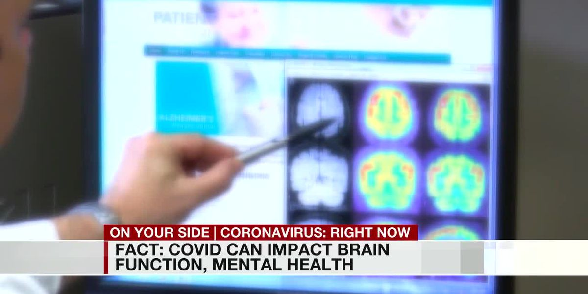 Fact or Fiction: Can COVID-19 impact brain function and mental health?