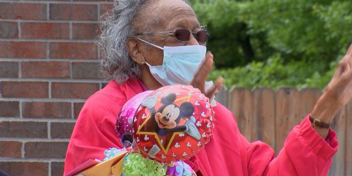 Huntsville woman celebrates 101st birthday with parade