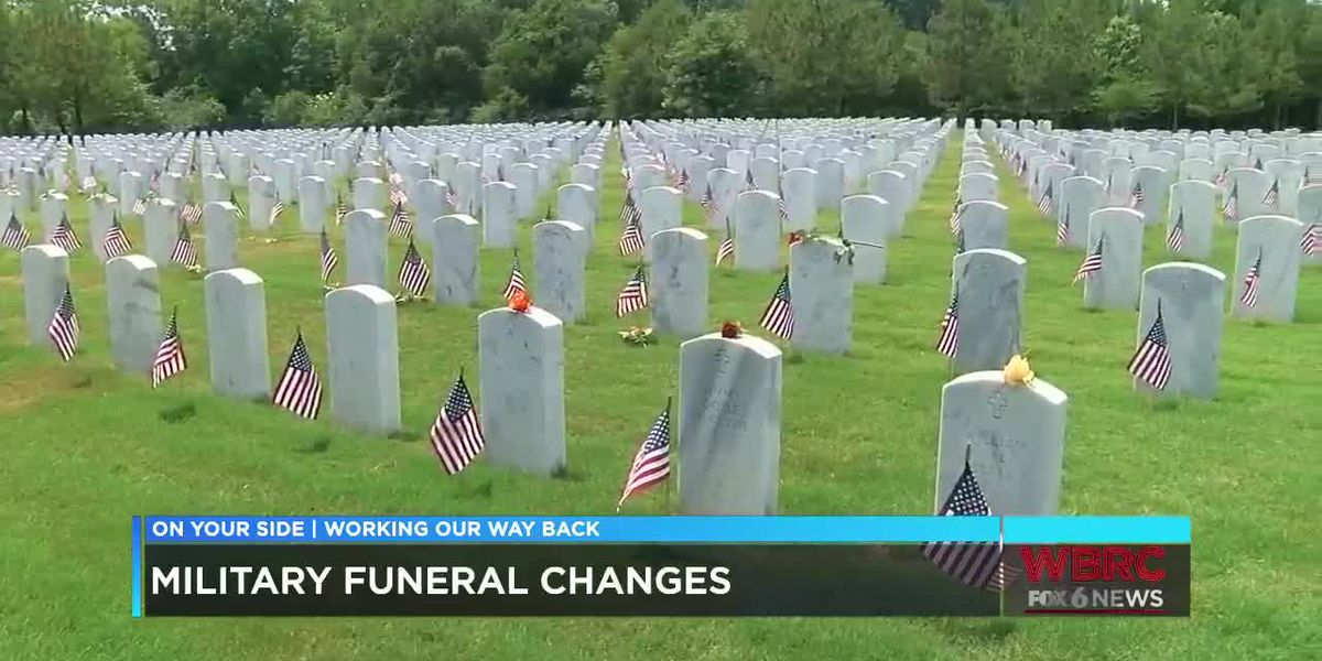 COVID-19 changed the way we can honor veterans who have died