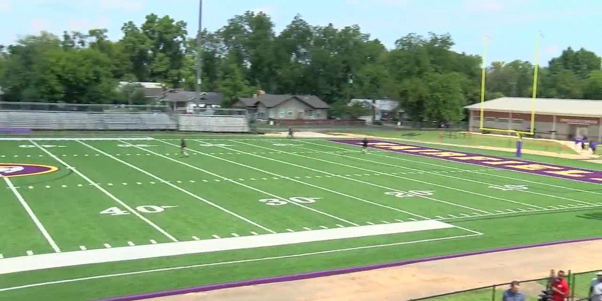 Fairfield Preparatory HS gets new multi-sports turf field