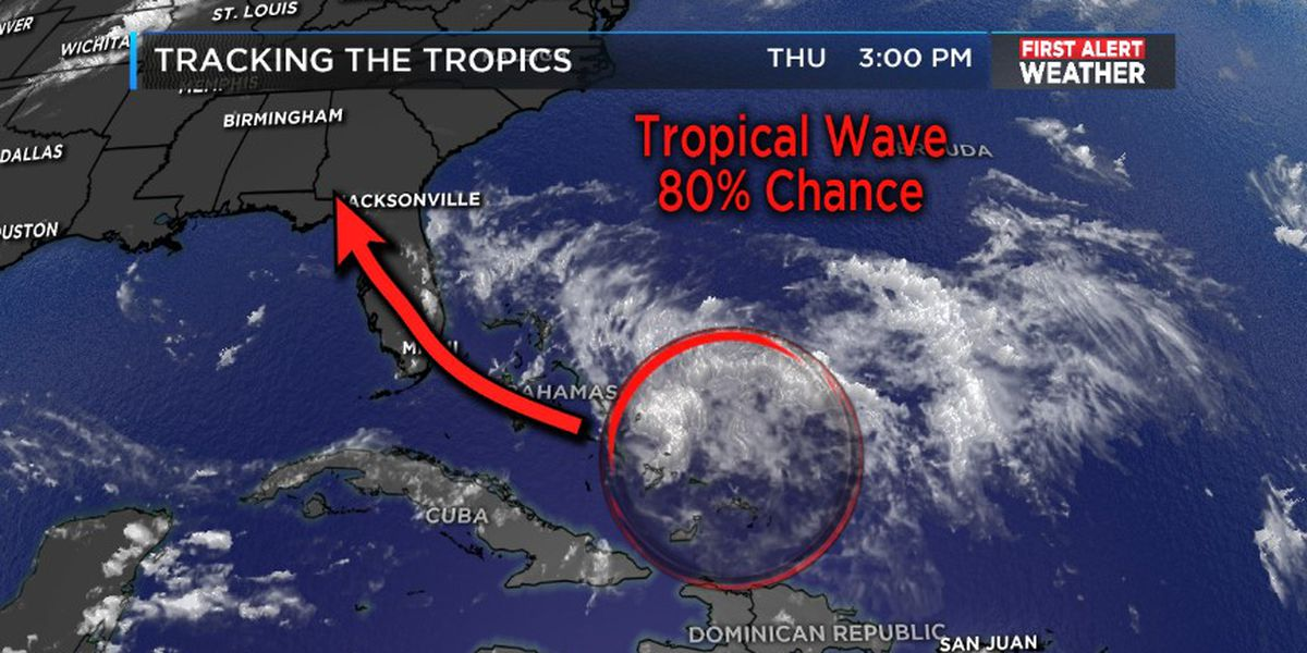 FIRST ALERT: Monitoring the tropics for possible development