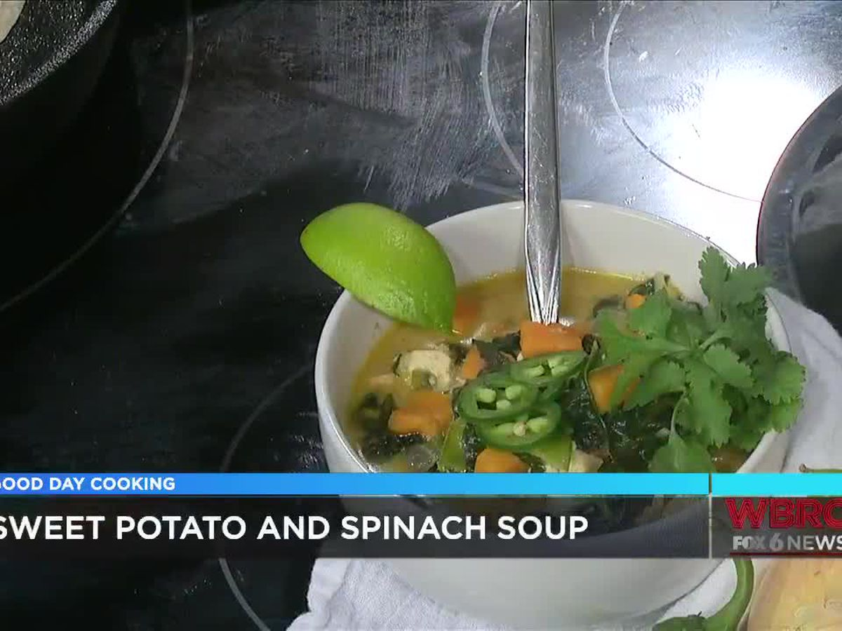 Wendy Cruse: Sweet Potato and Spinach Soup