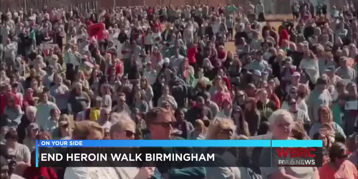 APC: End Heroin Walk Birmingham