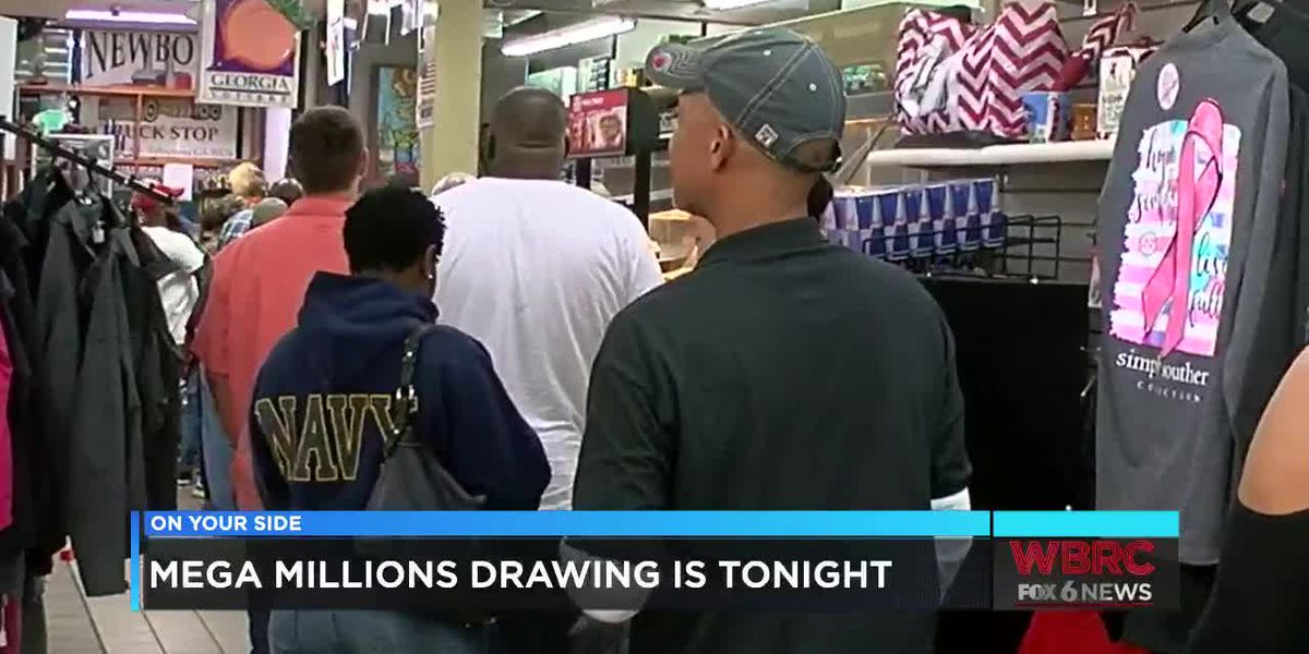 Mega Millions drawing is tonight
