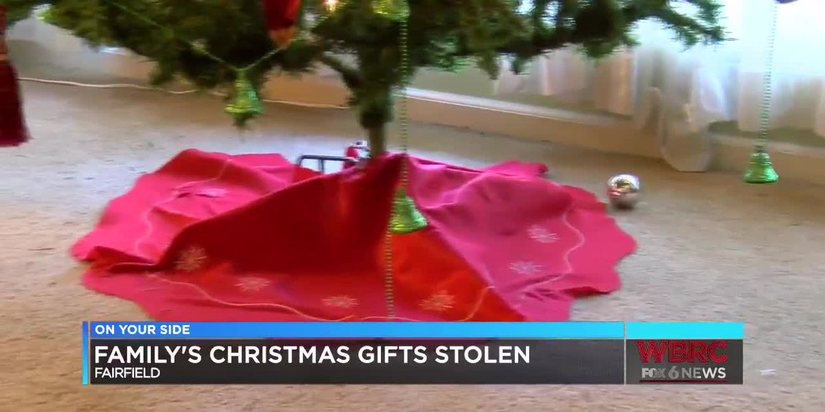Grinch steals family's Christmas gifts in Fairfield