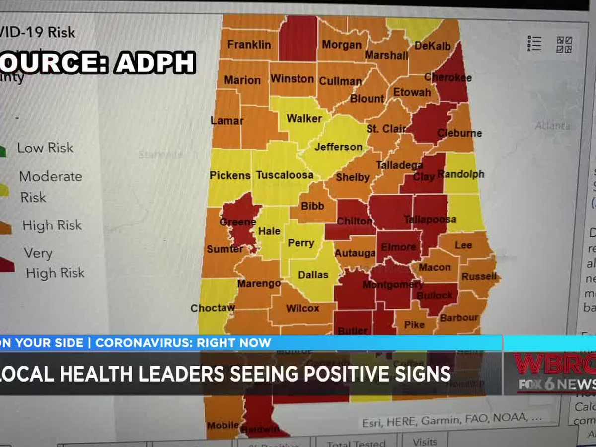 Health leaders seeing positive signs regarding COVID-19 cases