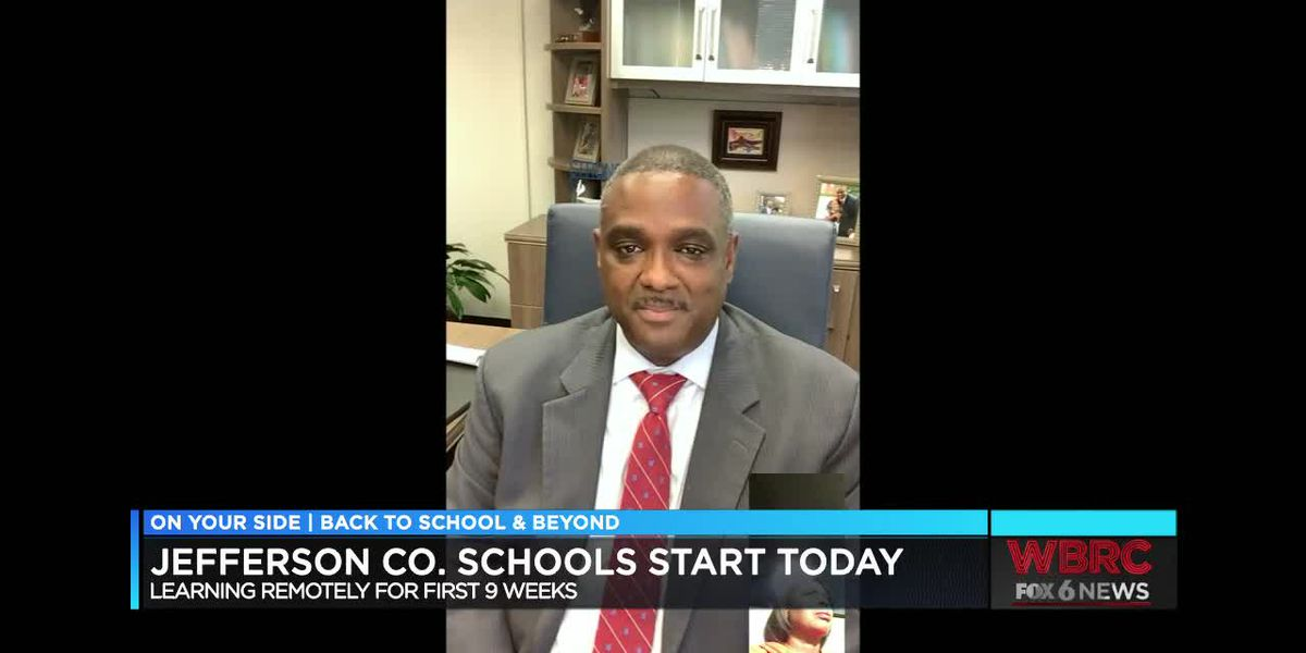 JeffCo Schools Superintendent Walter Gonsoulin talks about first day back for students