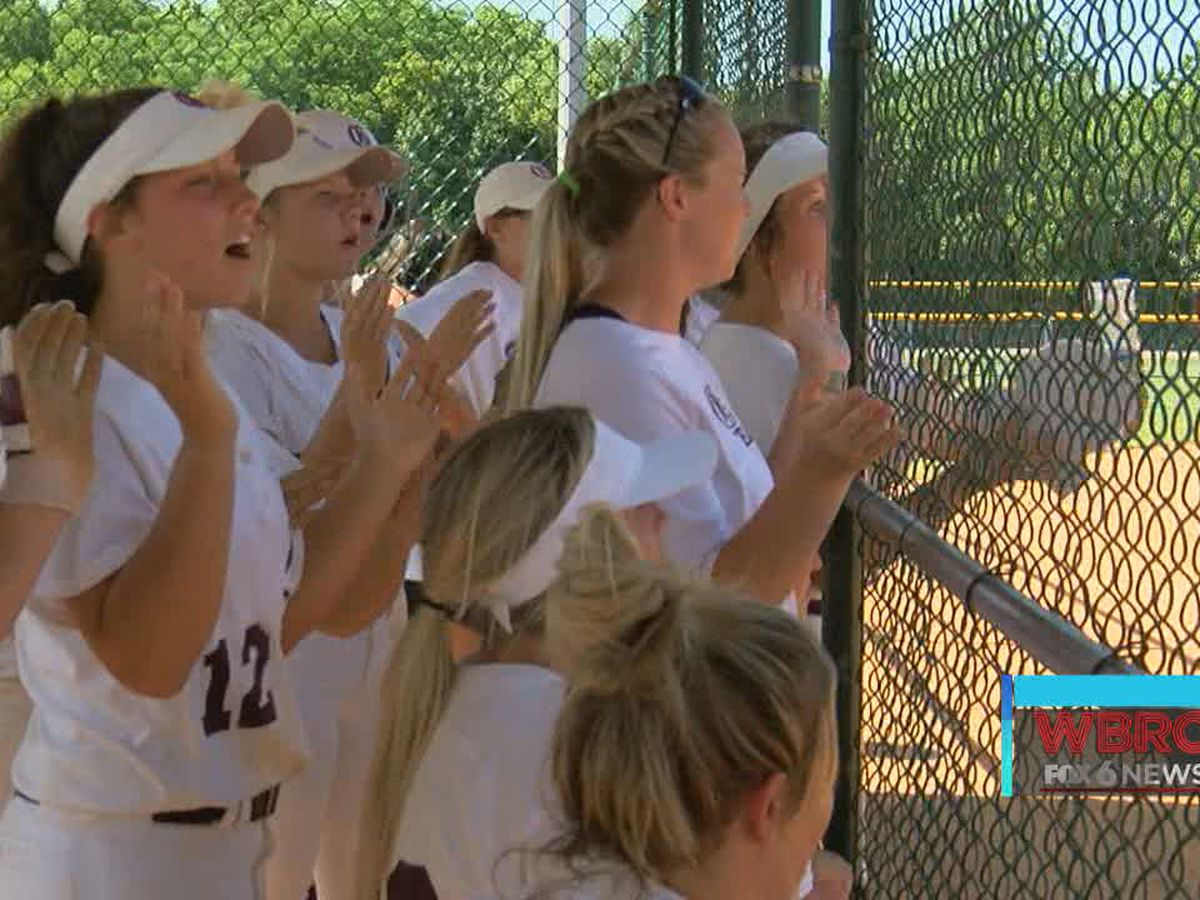 Softball: It's the only sport where athletes cheer nonstop! And we love it!