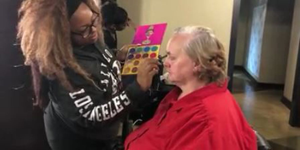 Local salon provides homeless with free makeovers