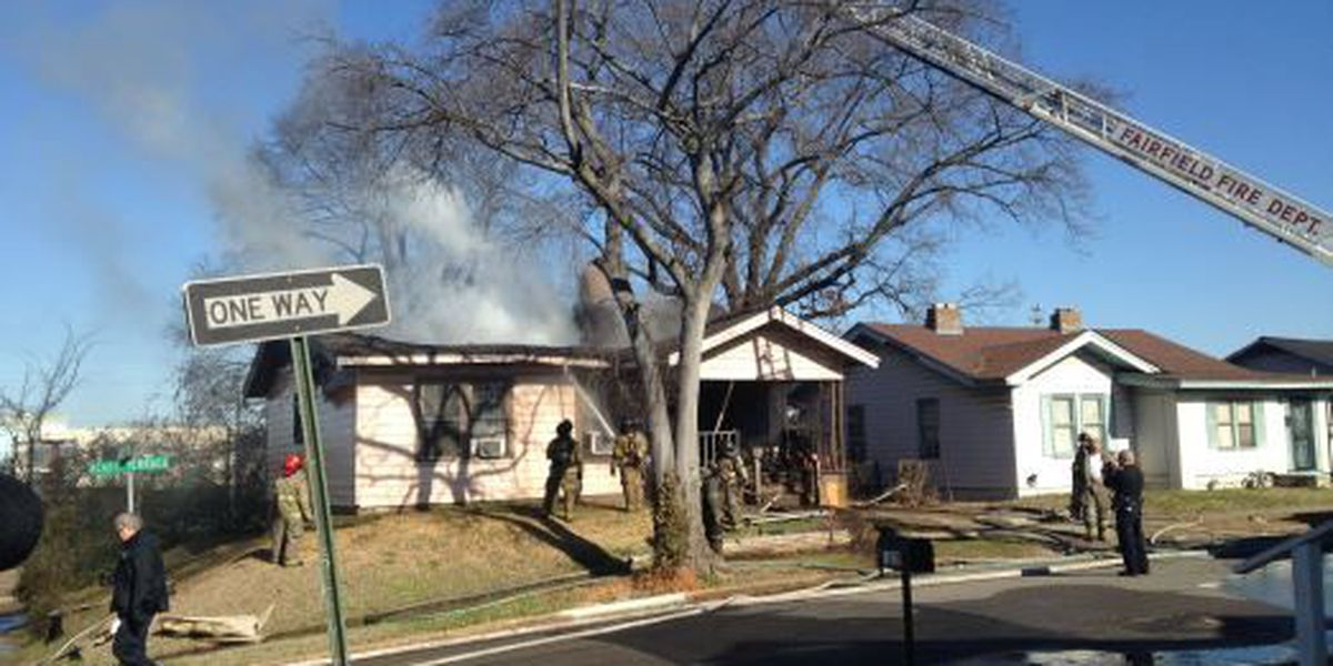 No injuries reported in Fairfield house fire