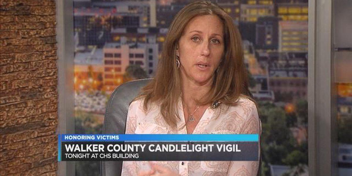 Kim Goldman, Walker Co. victim's vigil
