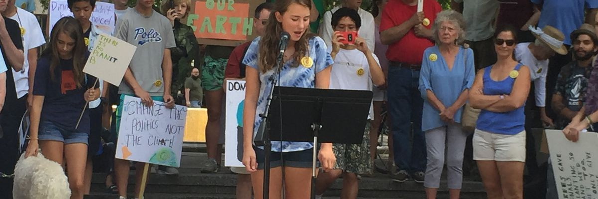 Students strike for action on climate change