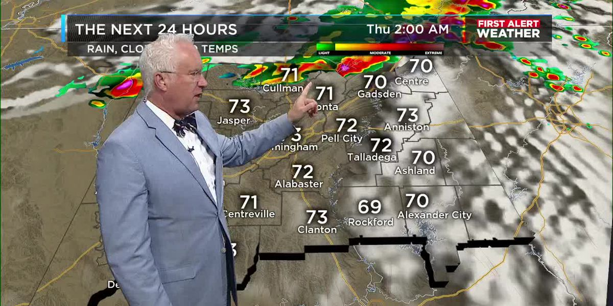 First Alert Weather 4am update 4-8-20
