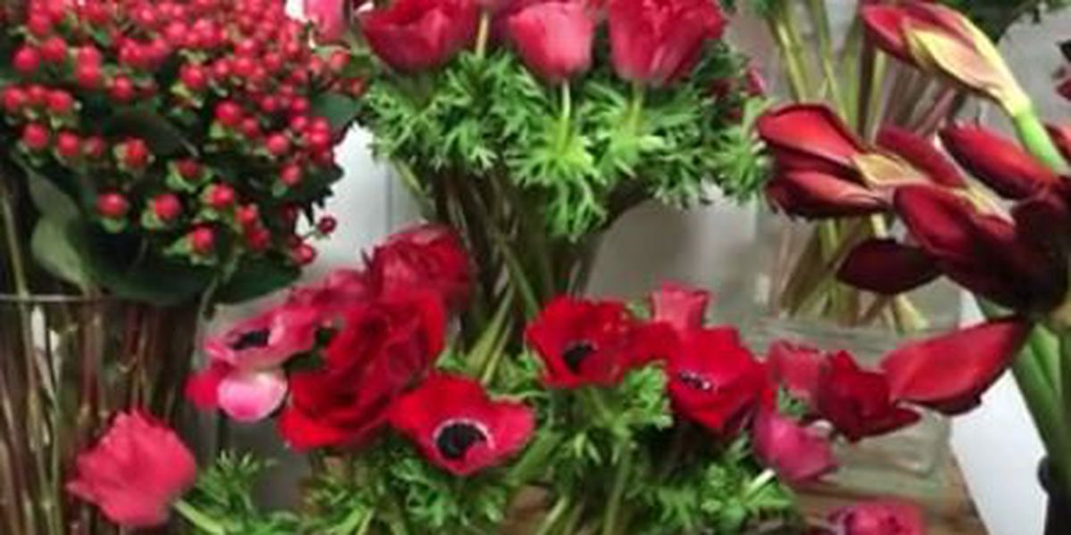 Local flower shops prepare for Valentine's Day