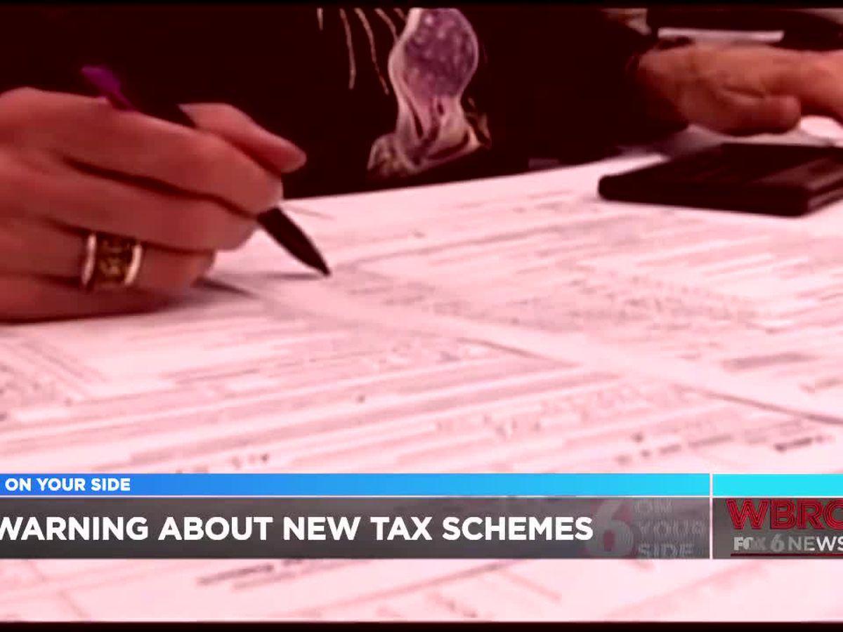 Consumer experts warn of tax schemes