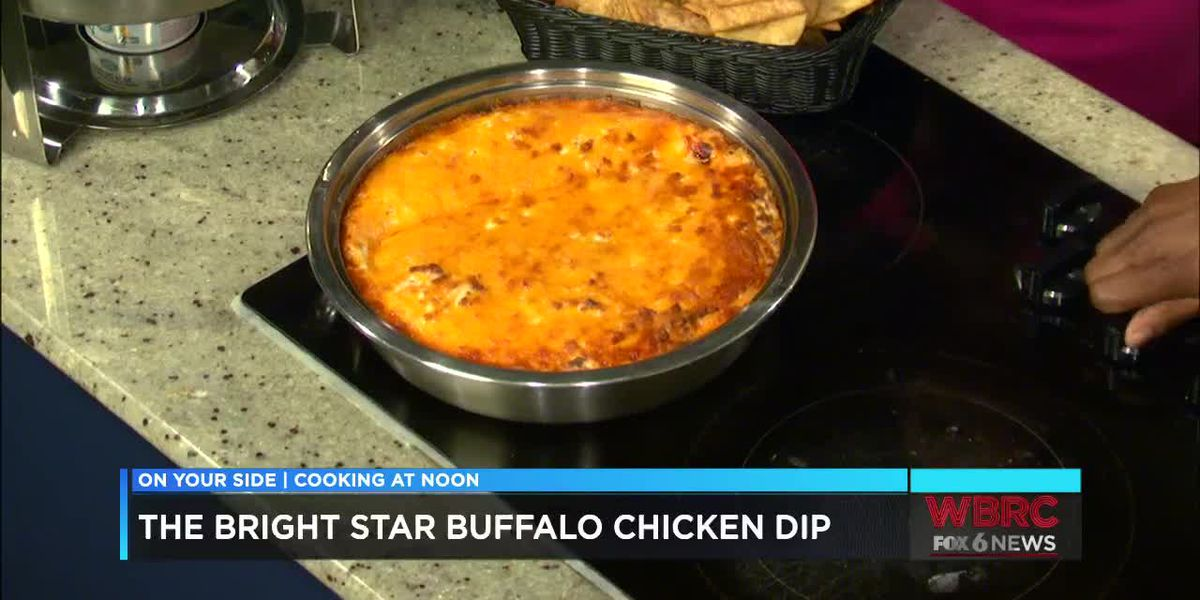 The Bright Star: Buffalo chicken dip