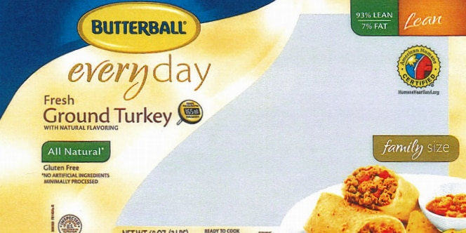 78,000 pounds of ground turkey recalled due to Salmonella Schwarzengrund concerns