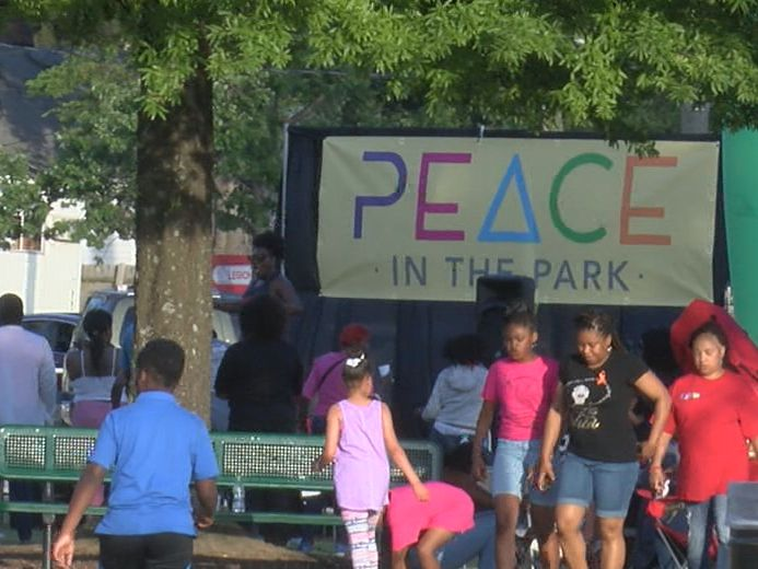 Peace in the Park event to combat crime