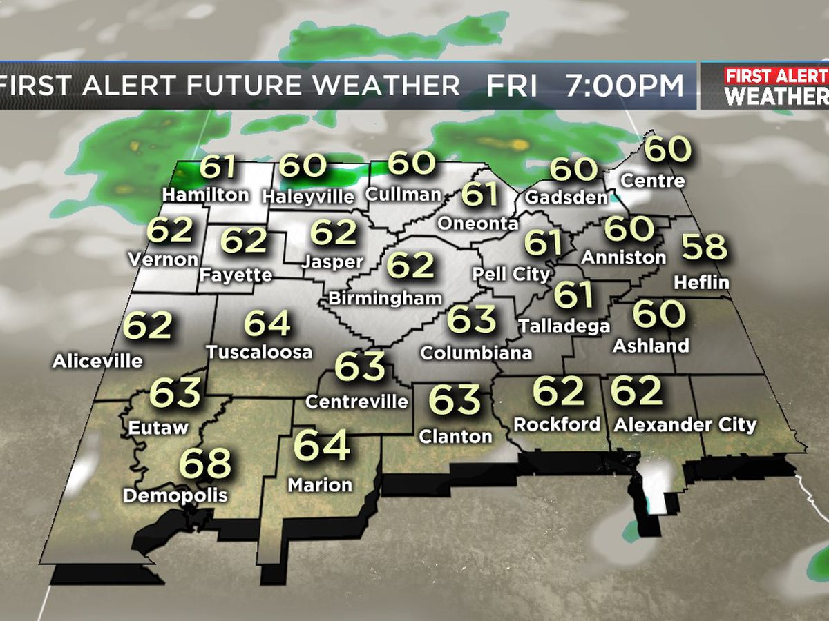FIRST ALERT: More rain overnight and through Saturday