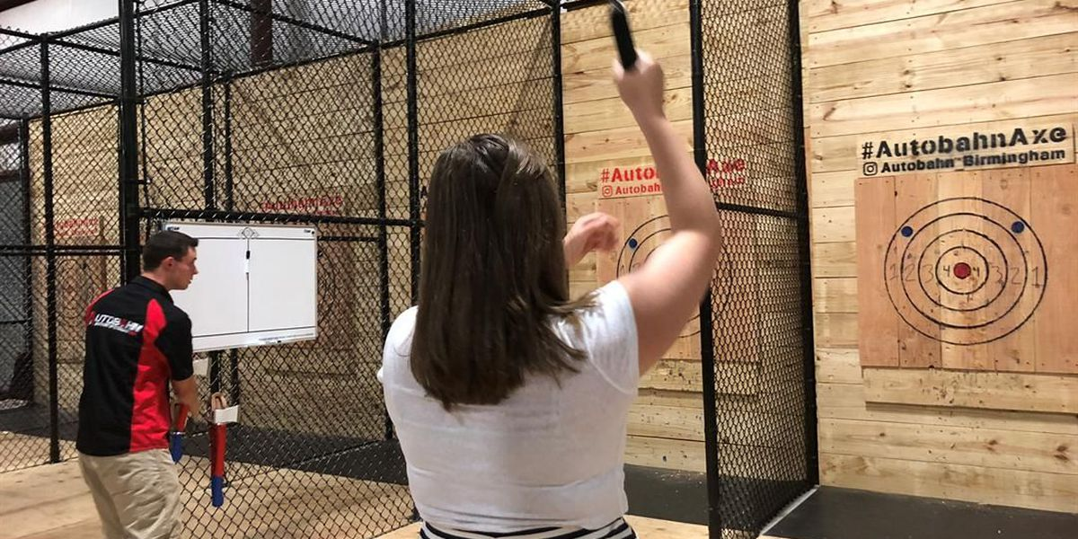 Ax Throwing Facility Opens at Autobahn Indoor Speedway