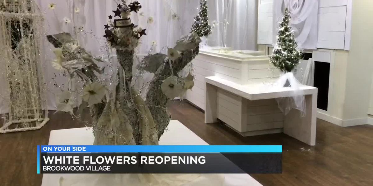 White Flowers reopening in Brookwood Village