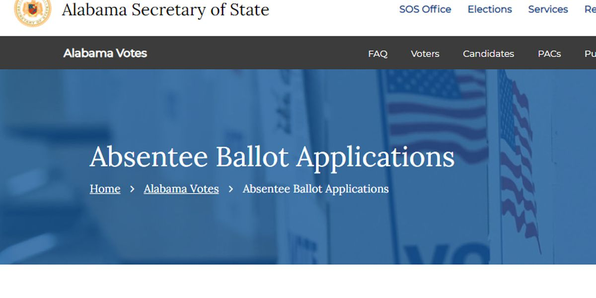 Alabama's absentee voting system doesn't allow voters to fix disqualified ballots